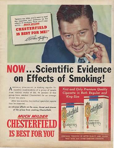 Smoking is good
