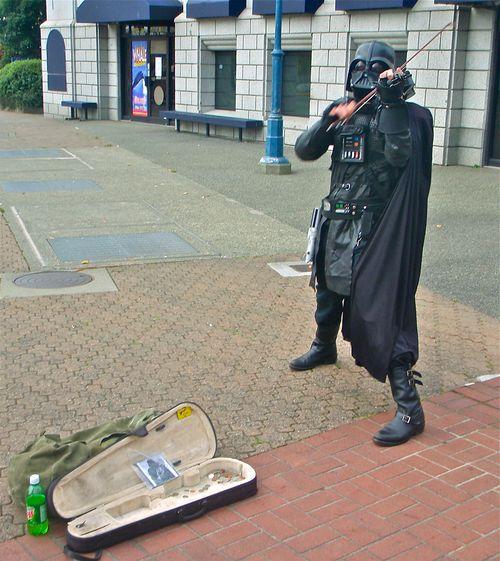 Darth Vader with Violin